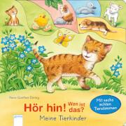 Döring, Hans-Günther: Hör hin! Was ist das  Meine Tierkinder  Mit sechs echte