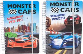 Depesche 6247 Monster Cars Schülerkalender 2016/17